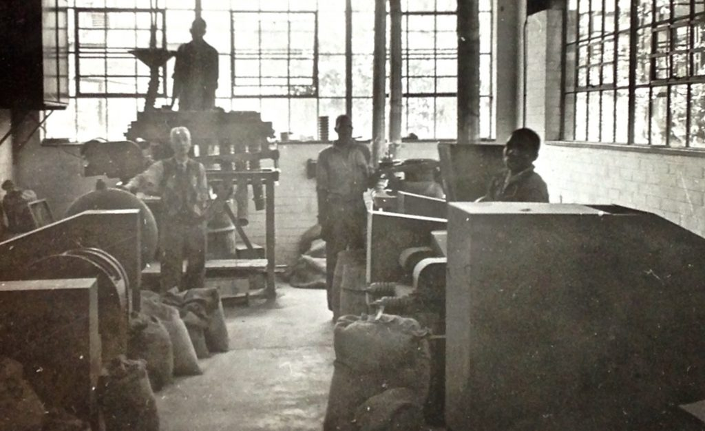 The original workshop [photo courtesy Twilsharp Studios]