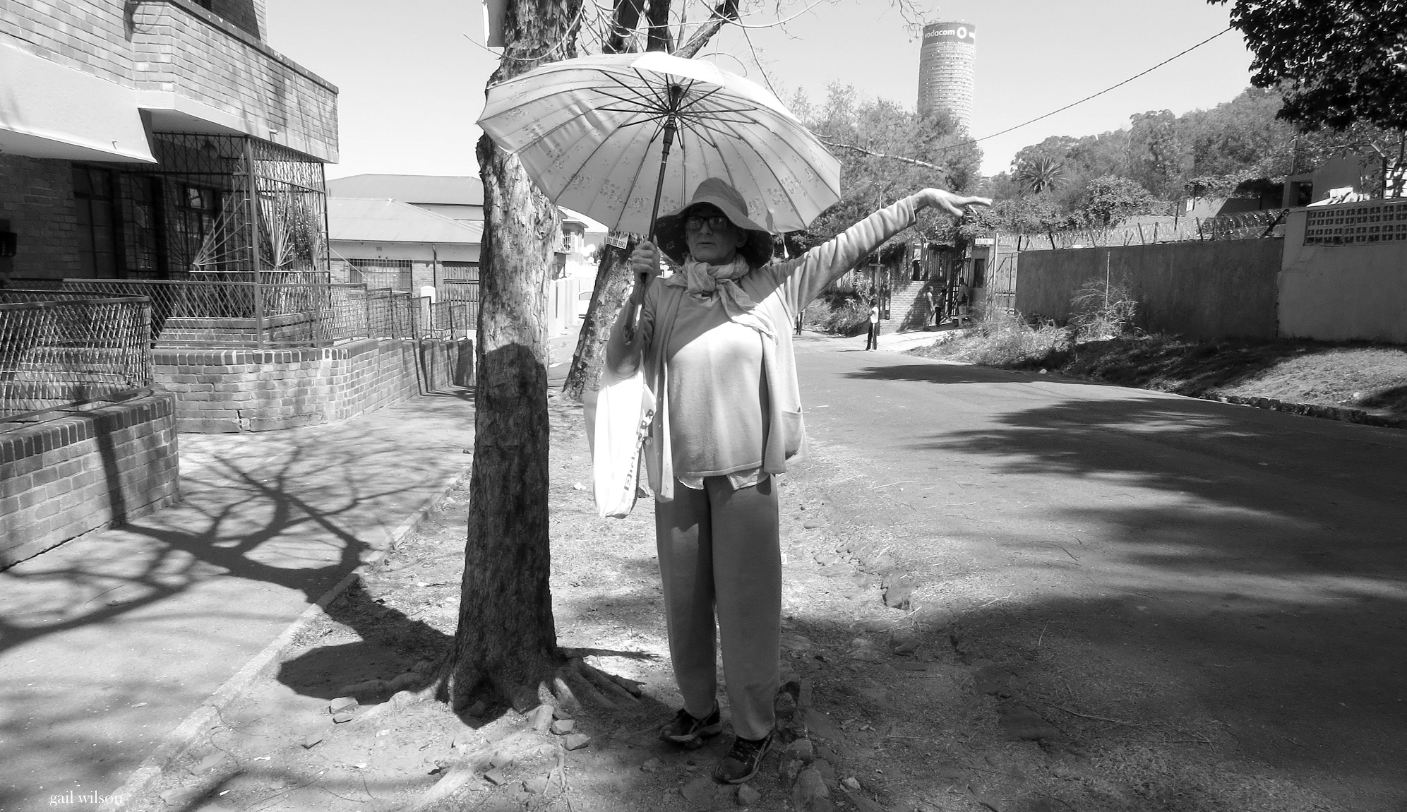 Toni Morkel as Jean, a Bertrams local/tour guide. Photo: Gail Scott Wilson