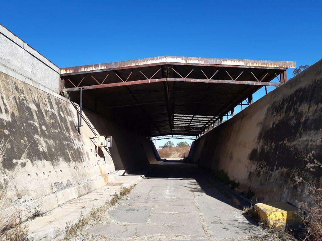 modderfontein nature reserve abandoned explosives bunker