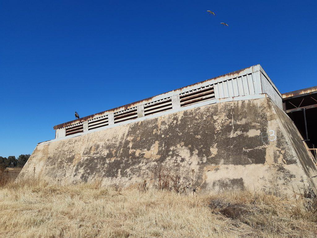 modderfontein nature reserve old explosives bunker